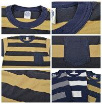 トイズマッコイ(TOYSMcCOY)ポケット付きボーダーTシャツTMC1736