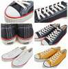 服裝房屋(WAREHOUSE)低切帆布運動鞋3200