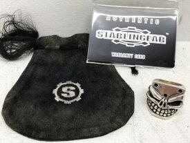 【送料無料】STARLINGEAR(スターリンギア) UNLUCKY PUNCHER RING アンラッキー パンチャー リング 指輪 #17 / SV925 シルバー 【中古】【007】