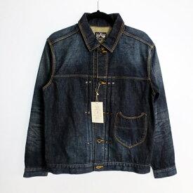 【中古】DRESS HIPPY ドレスヒッピー デニムトラッカージャケット サイズ:M カラー:【f096】