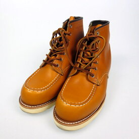 【中古】RED WING レッドウイング Irish Setter 6Moc-Toe ブーツ 9875 サイズ:27.5 カラー:ブラウン【f127】