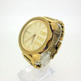 【中古】DIESEL ディーゼル DZ-1466 クォーツ 腕時計 カラー:ゴールド【f131】