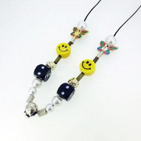 【中古】SALUTE サルーテ EVAE MOB SMILEY NECKLACE ネックレス 【f134】
