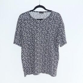 【中古】LAD MUSICIAN|ラッドミュージシャン BIG T-SHIRT INKJET SKULL FLOWER 総柄Tシャツ 2317-708 2017SS サイズ:42【f104】