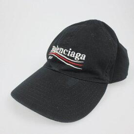 【中古】BALENCIAGA バレンシアガ Campaign Logo ベースボールキャップ 帽子 474622 【f135】