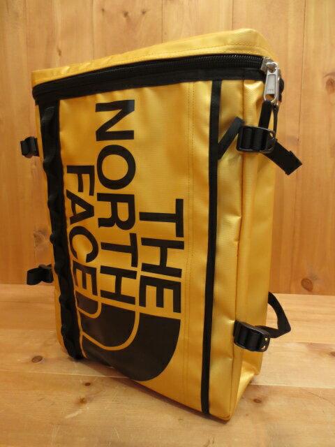 【中古】THE NORTH FACE ザ・ノースフェイス バックパック リュック  カラー:ゴールド×ブラック