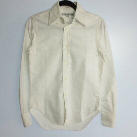【中古】INDIVIDUALIZED SHIRTS インディビジュアライズド シャツ 長袖 ボタンダウン シャツ サイズ:1 カラー:ホワイト / インポート【f112】