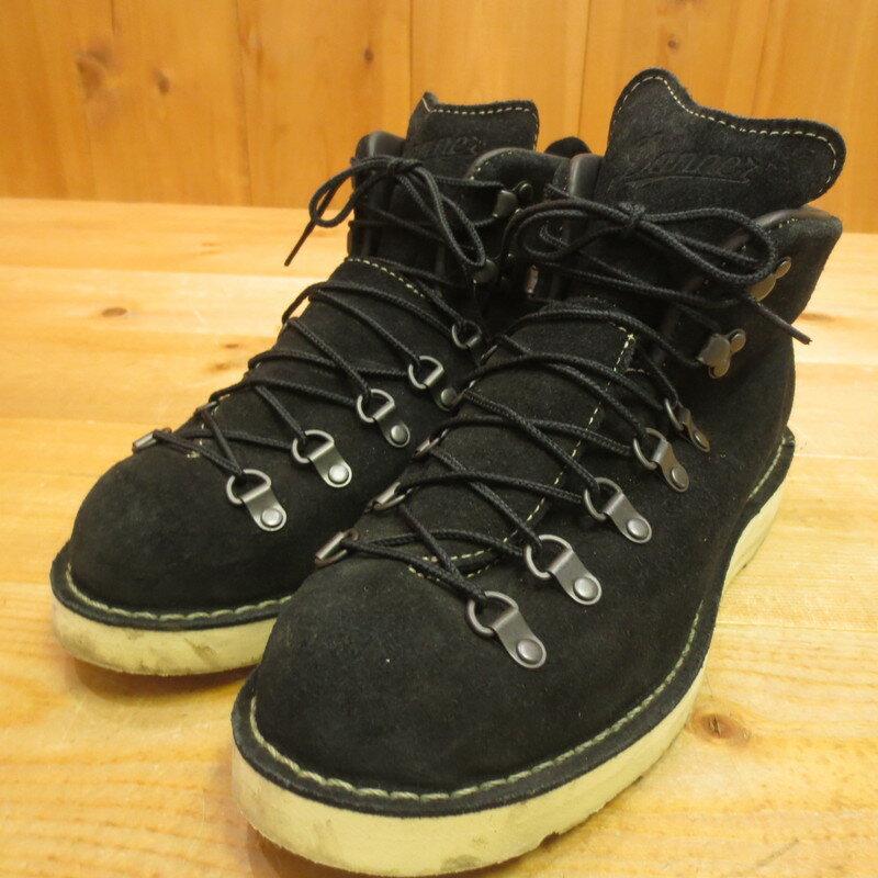 【中古】Danner ダナー マウンテンライト ブーツ サイズ:UK8 カラー:ブラック【f127】