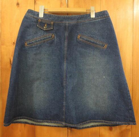 【中古】See By Chloe/シーバイクロエ スカート サイズ:USA12 カラー:ブルー系 / インポート