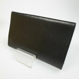 【中古】ED ROBERT JUDSON エドロバートジャドソン CANNABIS別注 二つ折り財布 ウォレット サイズ: カラー:ブラック【f124】