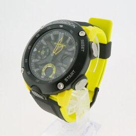 【中古】CASIO カシオ G-SHOCK Gショック GA-2000-1A9JF クォーツ 腕時計 サイズ: カラー:ブラック×イエロー【f131】