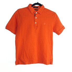 【中古】BLACK LABEL CRESTBRIDGE ブラックレーベル クレストブリッジ ポロシャツ サイズ:2 カラー:オレンジ【f104】
