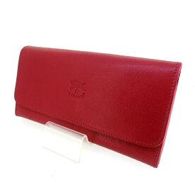 【中古】IL BISONTE イルビゾンテ 三つ折り 財布 ウォレット 【f124】