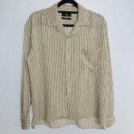 【中古】HARE ハレ 長袖 オープンカラー シャツ サイズ:S カラー:ホワイト / セレクト【f099】