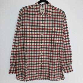 【中古】FACTOTUM ファクトタム ドビーチェック 長袖 シャツ サイズ:44 カラー:- / ドメス【f104】