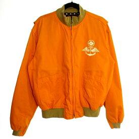【中古】EVISU エヴィス タンカースジャケット サイズ:42 カラー:イエロー系 / アメカジ【f093】