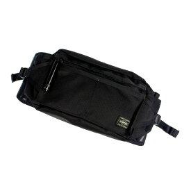 【中古】PORTER ポーター HEAT ウエストバッグ サイズ:- カラー:ブラック【f121】