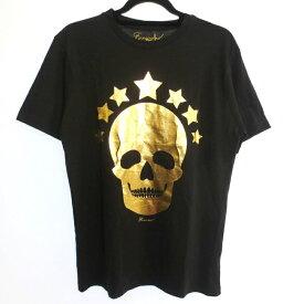 【中古】FORWARD MILANO フォワードミラノ 半袖 Tシャツ サイズ:L カラー:ブラック / インポート【f102】