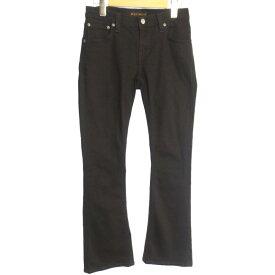 【中古】Nudie Jeans ヌーディージーンズ FUNKY FRANK デニムパンツ サイズ:27 カラー:ブラック / インポート【f107】