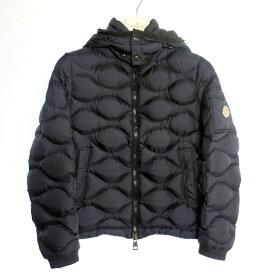 【中古】MONCLER モンクレール MORANDIERES ダウンジャケット サイズ:0 カラー:ネイビー / インポート【f108】