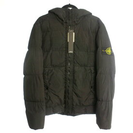 【中古】STONE ISLAND ストーンアイランド ダウンジャケット サイズ:L カラー:ブラック / インポート【f108】