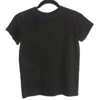 【中古】agnesb.アニエスベー半袖Tシャツサイズ:1カラー:ブラック/インポート【f112】