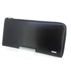 【中古】PORTER ポーター SHEEN ラウンドファスナー 長財布 ウォレット サイズ:- カラー:ブラック【f124】