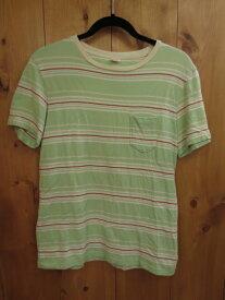 【中古】TOWNCRAFT/タウンクラフト 半袖 Tシャツ サイズ:M カラー:グリーン系 / アメカジ【f101】