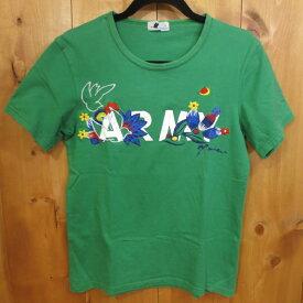 【中古】miraco/ミラコ 半袖 Tシャツ サイズ:- カラー:グリーン / セレクト【f099】