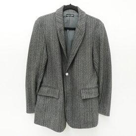 【中古】FRANK LEDER/フランクリーダー 2Bヘリンボーンジャケット サイズ:S カラー:グレー / インポート【f094】