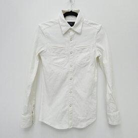 【中古】AKM/エイケイエム 2015S/S 長袖シャツ サイズ:S カラー:ホワイト / ドメス【f104】