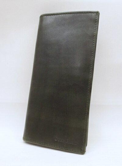 【中古】COLE HAAN/コールハーン 長財布 カラー:グリーン