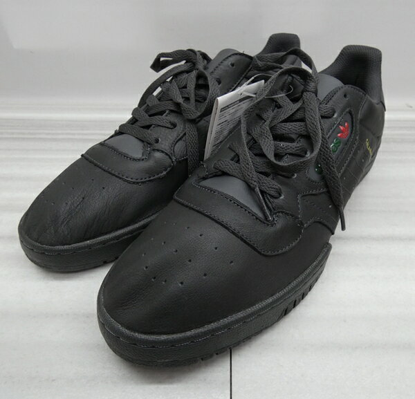 【中古】adidas/アディダス CG6420 YEEZY POWERPHASE スニーカー サイズ:30cm カラー:ブラック【f126】