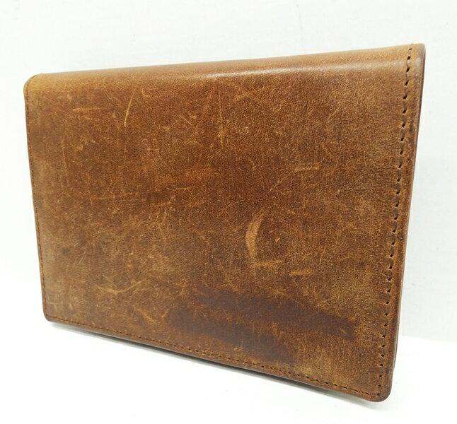 【中古】SETTLER/セトラー 二つ折り財布 カラー:ブラウン【f124】