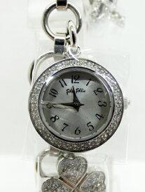 【中古】FolliFollie/フォリフォリ 腕時計 シルバー×シルバー クォーツ ステンレススティールベルト【f131】