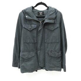 【中古】CABANE de ZUCCA/カバンドズッカ 2014S/S フード付き M-65ジャケット サイズ:S カラー:グリーン系 / ドメス【f096】