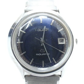 4f863a6d83 【中古】RICOH/リコー 腕時計 クォーツ ステンレススティールベルト サイズ:- カラー: