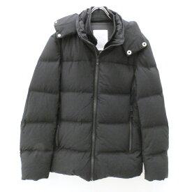 【中古】MONOBI/モノビ ダウンジャケット/Eiger/2016-17AW TATRAS取り扱い サイズ:1 カラー:ブラック【f108】