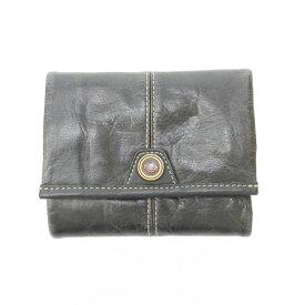 【中古】master-piece/マスターピース 二つ折り財布 サイズ:- カラー:ブラック【f124】