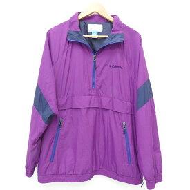 【中古】Columbia/コロンビア ヘイゼンジャケット ナイロンジャケット サイズ:XL カラー:パープル / アウトドア【f092】