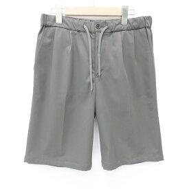 【中古】EFILEVOL/エフィレボル 2016S/S PA-PT03 SEIM PANTS イージーショーツ パンツ サイズ:1 カラー:グレー / ドメス【f107】