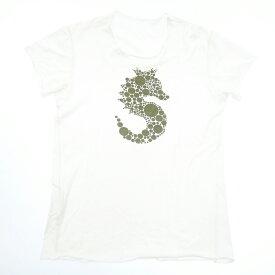 【中古】lucien pellat-finet/ルシアン ペラフィネ 半袖Tシャツ サイズ:S カラー:ホワイト【f108】