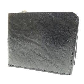 【中古】BACKLASH/バックラッシュ 二つ折り財布 サイズ:- カラー:ブラック【f124】