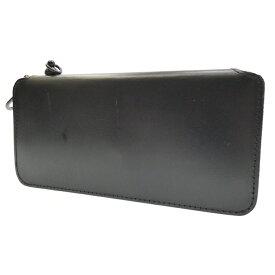 【中古】BACKLASH/バックラッシュ ラウンドファスナー長財布 サイズ:- カラー:ブラック【f124】