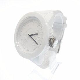 【新古品・未使用品】DIESEL/ディーゼル 腕時計 DZ1436 アナログ クォーツ 樹脂バンド サイズ:- カラー:ホワイト(文字盤)ホワイト(ベルト)【f130】