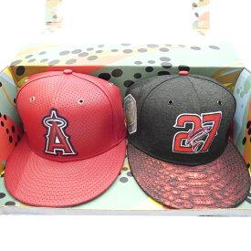 【中古】NEW ERA/ニューエラ Hat Box Set MLB 2-Time MVP Adjustable キャップ サイズ:- カラー:レッド×グレー系【f118】