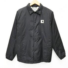 【中古】Carhartt WIP/カーハート ダブリューアイピー コーチジャケット サイズ:M カラー:ブラック / ストリート【f095】