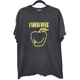 【中古】UNDERCOVER/アンダーカバー スマイリーアップルTシャツ サイズ:L カラー:ブラック / ドメス【f104】