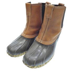 【中古】LLBean/エルエルビーン ビーンブーツ サイズ:28cm カラー:ブラウン【f127】