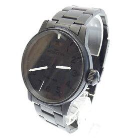 【中古】FORTIS/フォルティス 腕時計 アナログ 自動巻き ステンレススティール サイズ:- カラー:ブラック【f131】